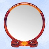 "Plastic Frame 2 Way Mirror 8"" (doz.)"